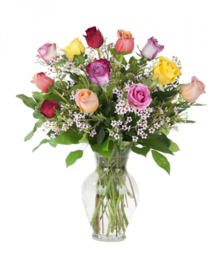 Colors Of Love Roses in Lompoc, CA | BELLA FLORIST AND GIFTS