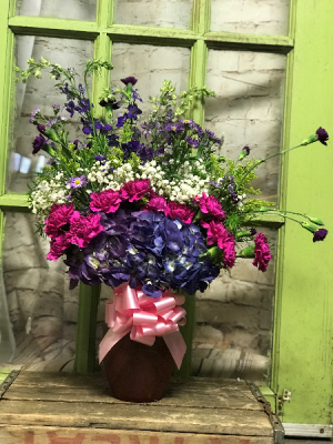 Colors of Memory arrangement in Wilkes Barre, PA | Kelly Ann's Floral