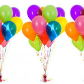 Colors of the Rainbow Balloon Bouquet
