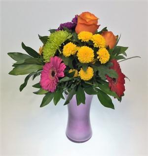 Colour Crush Bouquet in Invermere, BC | INSPIRE FLORAL BOUTIQUE