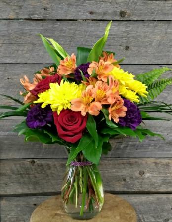 Colourful Days vase