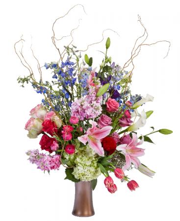 Colourful Garden Mixture of elegant flowers