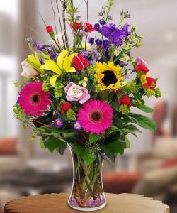 Colourful Bright Vase Vase