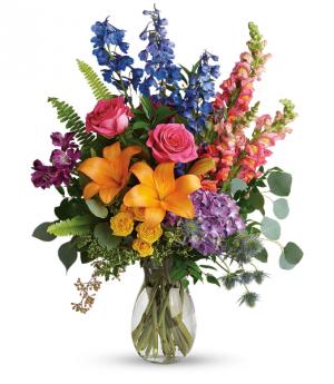 Colours Of The Rainbow Birthday in Calgary, AB | Posh Flowers Ltd