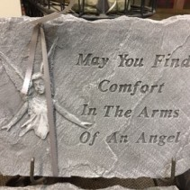 Comfort Arms of Angel Angel & Plaque