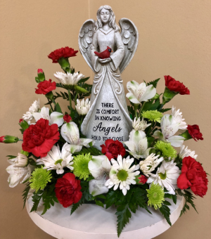 Comforting Angel Keepsake in Springfield, IL | FLOWERS BY MARY LOU INC