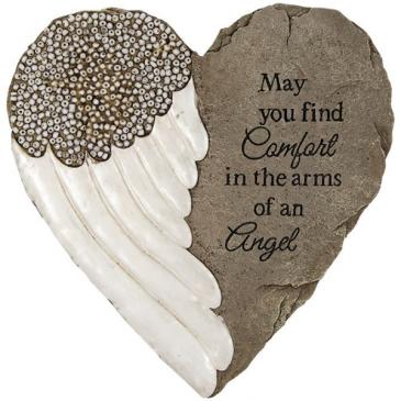 Comforting Grace  Garden Stone