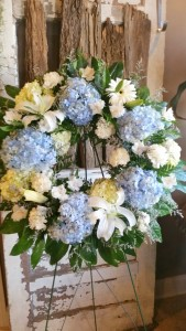 Coming Home Sympathy Wreath