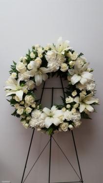Communion  Sympathy Wreath