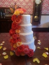 Complete your Look with Cake Flowers