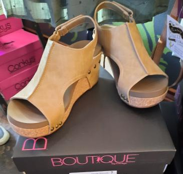 Cona Wedge Corky Shoe