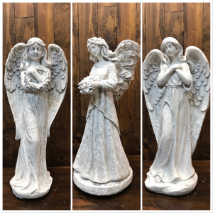 Concrete Angels  in Yankton, SD | Pied Piper Flowers & Gifts