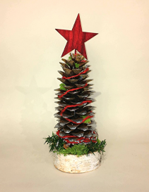 Cone Christmas Tree Christmas Arrangement