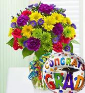 Congrats Grad Balloon Included
