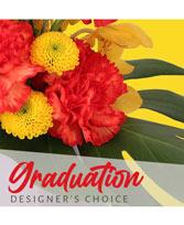 Congrats Grad Flowers Designer's Choice