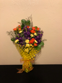 Summer Confetti Handtied Arrangement