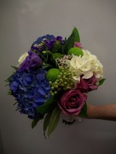 Congrats in Blues Wedding Bouquets