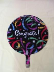 Congratulations Balloon 1 Mylar Balloon