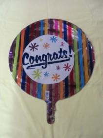 Congratulations Balloon 2 Mylar Balloon