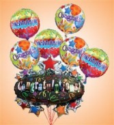 Congratulations Marquee Mylar Bundle Celebration