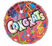 Congratulations Stars & Streamers Mylar Ballooon