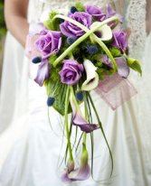 Contemporary Bridal Bouquet Wedding Flowers