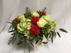 Contemporary Christmas Fresh Flowers in Canon City, CO | TOUCH OF LOVE FLORIST AND WEDDINGS