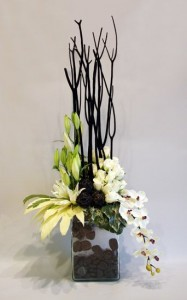 Contemporary Design  Tropical Flower Arrangement in Burbank, CA | MY BELLA FLOWER