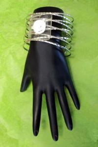 Contemporary Multi-Band Cuff Wrist Corsage Band