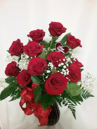 Cook Florist's Valentine Dozen