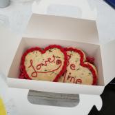 Cookie basket valentine's day
