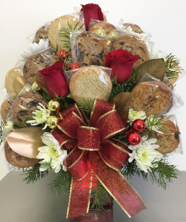 Cookie Christmas Edible Bouquet