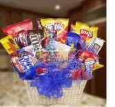 CANDY, COOKIE AND CHIP BASKET Gift Baskets