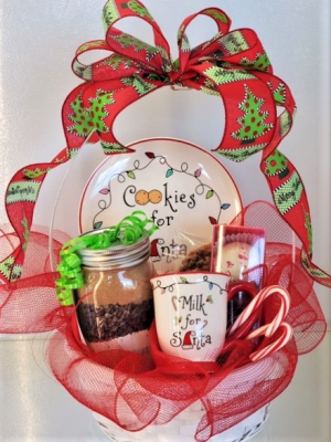 Cookies For Santa Sweet Blossoms in Jamestown, NC | Blossoms Florist & Bakery