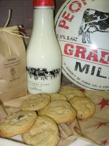 Cookies & Milk AVAIABLE  WITH 24 - 48 HOUR NOT  in Vernon, BC | SIMPLY BASKETS AND HARRIS FLOWERS