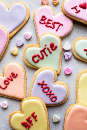 Cookies Valentines Cut Outs