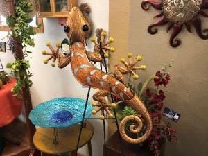 Copper and Gold Gecko  in Casa Grande, AZ | NATURE'S NOOK FLORIST, LLC