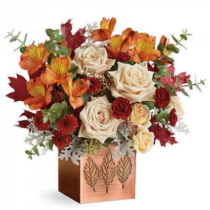 Copper Elegance Fall In Johnstown Pa Laporta S Flowers Gifts