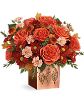 Copper Petals Arrangement