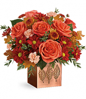 Copper Petals Bouquet  in Fort Collins, CO | D'ee Angelic Rose Florist