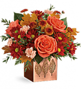 Copper Petals Bouquet Fresh Arrangement