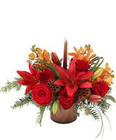 Copper & Roses Floral Design