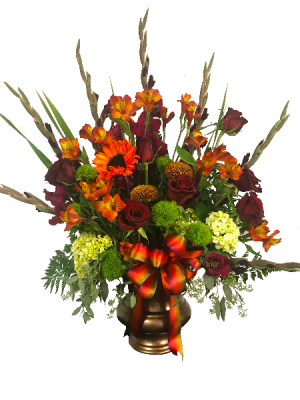 Copper Sympathy Arrangement  in Spanish Fork, UT   3C Floral