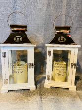 Copper Top Memorial Lanterns