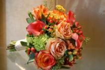 Coral Bouquet Wedding bouquets