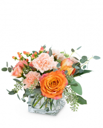 Coral Crush Flower Arrangement