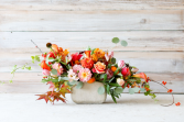 Coral Harvest Flower Arrangement