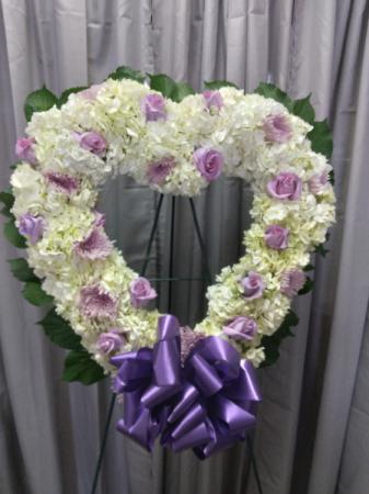 corazon # 6 rosas y fillers