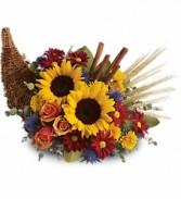 cornicopia Thanksgiving  in Merrimack, NH | Amelia Rose Florals