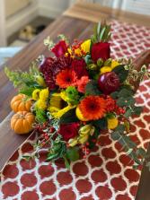 Cornucopia Delight  Bright Flowers